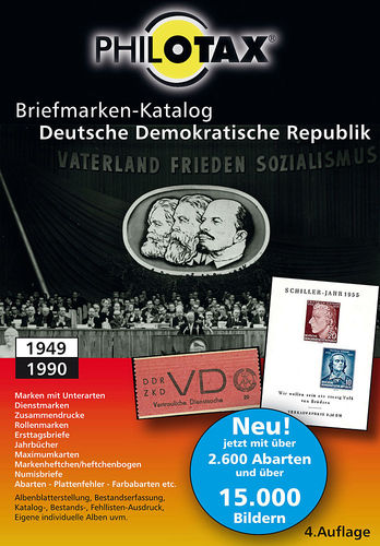 DVD Briefmarken-Katalog Deutsche Demokratische Republik Update